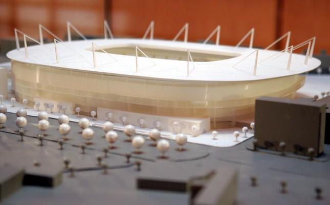 Proyectos del estadio del Valencia arena 2