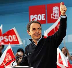 Zapatero durante su intervención (EFE)