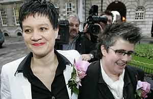Bodas homosexuales en Irlanda del Norte