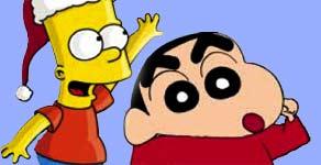 Bart le pone un tapón a Sin Chan