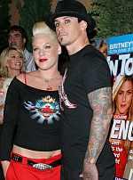 Pink y su marido, Carey Hart