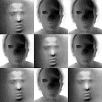 Retratos de las mil caras en Biselarte
