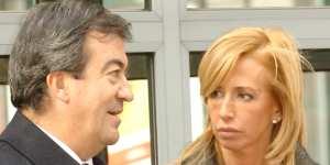 Álvarez Cascos y María Porto