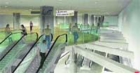 Mercado Central: el tranvía casi llegará a los puestos