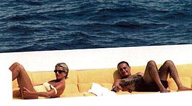 Diana y Dodi en los días previos a su muerte ©Korpa