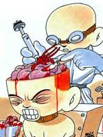 'Brian the Brain', uno de sus comics más famosos