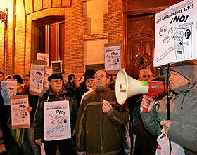 parquimetros Carabanchel protesta
