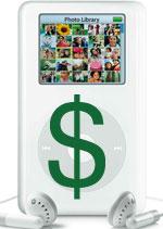 La SGAE quiere un canon  en los iPod