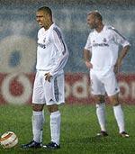 Ronaldo en la lluvia