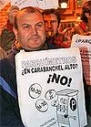manifestación Carabanchel mini
