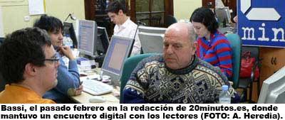Bassi en 20minutos.es (FOTO: Amanda Heredia).