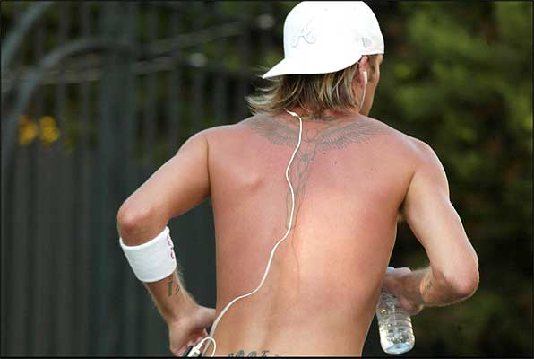 Los tatuajes expuestos han - Tattoo - Tatuaje de Alas de Angel - dibujo