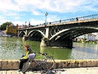 En bici, del Huevo de Colón a Bermejales