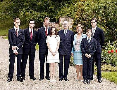 Familia Real de Luxemburgo