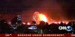 Bombardeos en directo retransmitidos por CNN (<STRONG&gr;Foto: </STRONG&gr;<A href=