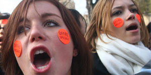 Foto manifestaciones Francia