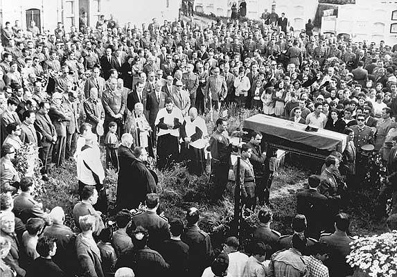 Cementerio de Malpica, 07 de junio de 1968