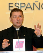 El secretario y portavoz de la Conferencia Episcopal, Juan Antonio Martínez Camino (Efe)