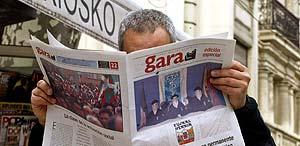 Edición especial del diario Gara