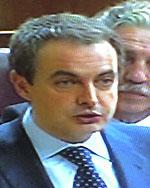 Zapatero tras su comparecencia en el Congreso
