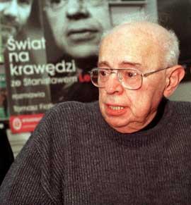 Stanislaw Lem en una imagen de archivo
