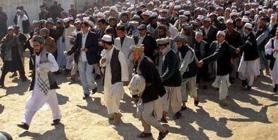 Protestas en Afganistán por el caso de Abdul Rahman