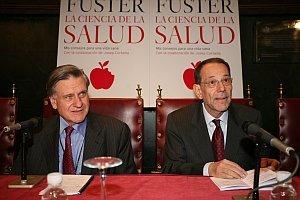 Javier Solana es paciente de Valentín Fuster