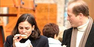 Alex Corrías e Inés Sastre