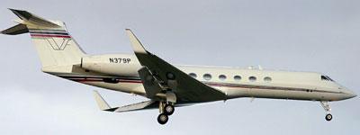 Vuelo N379P, utilizado por la CIA. (Amnistía Internacional)