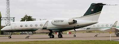 Vuelo N227SV, utilizado por la CIA. (Amnistía Internacional)
