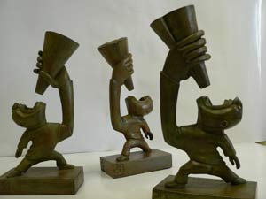 El trofeo 20blogs (Foto: Melisa Tuya).