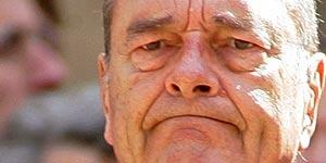 El presidente de la República Francesa, Jacques Chirac (Reuters).