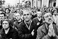 Resultados electorales muy ajustados entre Berlusconi y Prodi