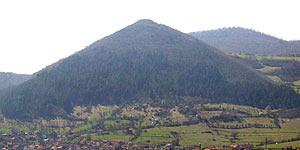 Supuesta pirámide de Bosnia (Efe).