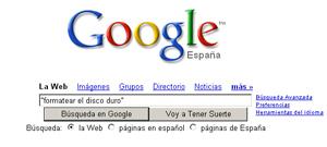 Usa las comillas en el buscador para precisar tu búsqueda.