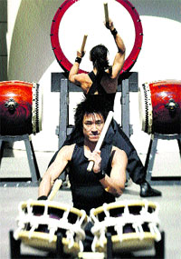 Yamato trae el ritmo del tambor nipón