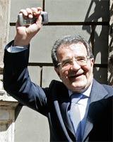 Prodi, este miércoles en Roma  (Foto: Reuters)