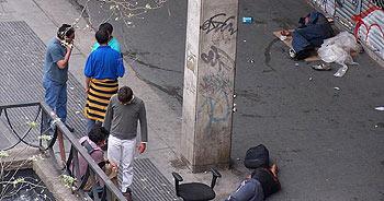Yonquis en la calle Luna (M.P.G.).