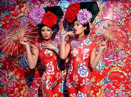 Body Painting - China Girls