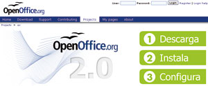OpenOffice es una completa suite ofimática.