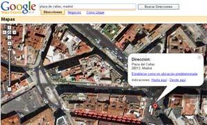Google Maps con información local en España