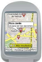 Google Maps para móviles.