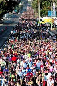 Más de 250.000 peregrinos