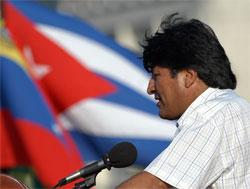 Evo Morales ha viajado a Cuba por sorpresa. (Efe)