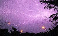 ¡Rayos! ¡Qué tormenta!