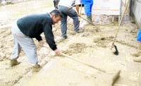 Las lluvias provocan riadas en 4 pueblos de Antequera
