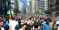La ciudad se colapsa con las protestas del sector del metal