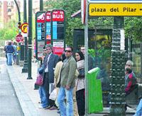 Retrasos de casi todos los buses de Zaragoza por sólo tres obras