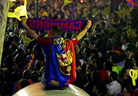 Celebraciones título de Liga