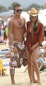 El matrimonio Beckham